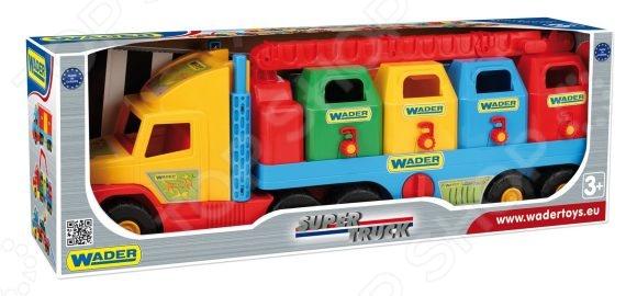 Машинка игрушечная Wader «Мусоровоз» Super Truck