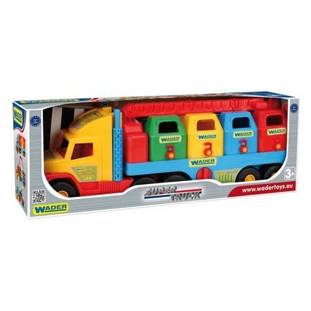 Купить Машинка игрушечная Wader «Мусоровоз» Super Truck
