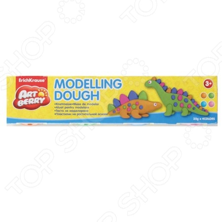 ��������� �� ������������ ������ ����� Erich Krause Modelling Dough �2: 4 �����