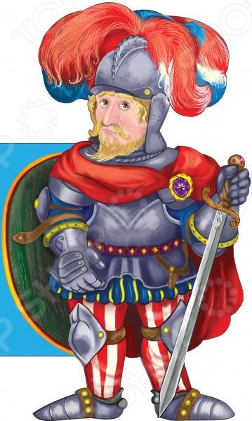 Книжки-игрушки Эксмо 978-5-699-77659-7 Благородный рыцарь
