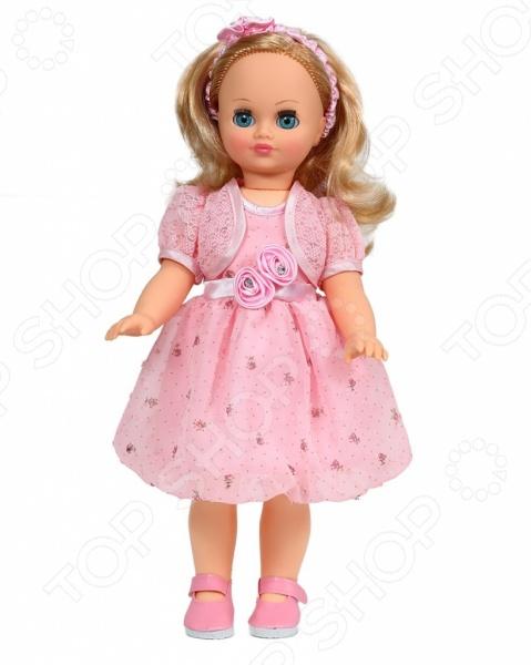 Кукла интерактивная Весна «Лиза 23»Интерактивные куклы и пупсы<br>Кукла интерактивная Весна Лиза 23 это красивая куколка, которая точно порадует вашего ребенка и подарит ему сказочные минуты игры. При создании уделялось внимание всем частям тела и аксессуарам, ведь именно это делает куклу уникальной. Глаза и вся фигурка полностью соответствует образу настоящего маленького человека. Кукла одета в оригинальный наряд, а волосы уложены в соответствии с общим стилем. Игрушки такого типа помогают ребенку развивать фантазию, мелкую моторику рук, логику и создавать собственные удивительные истории с участием куклы.<br>