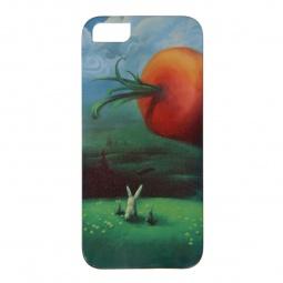 фото Чехол для iPhone 5 Mitya Veselkov «Заяц и морковка»