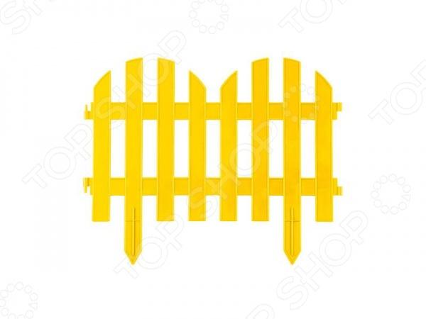 Забор декоративный Grinda «Палисадник» 422205 Забор декоративный Grinda 422205-Y /Желтый