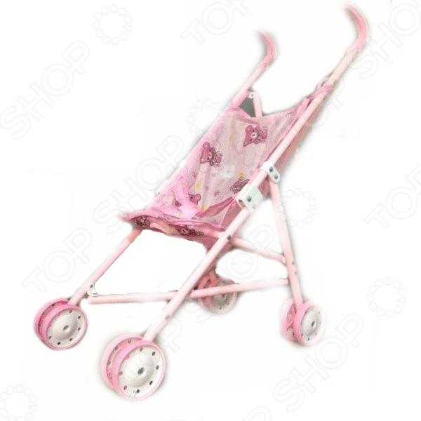 Коляска для куклы Nantong Reking TX59116 коляска для куклы lokotoys четырехколесная с поддоном красная
