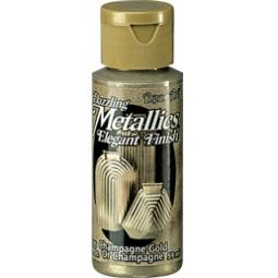 фото Краска акриловая DecoArt Dazzling Metallics. Цвет: золото шампань
