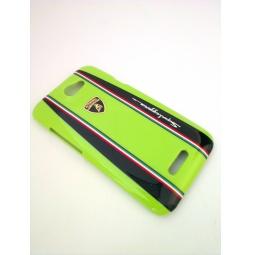 фото Чехол Lambordghini Cover Superleggera D1 для HTC One X. Цвет: зеленый