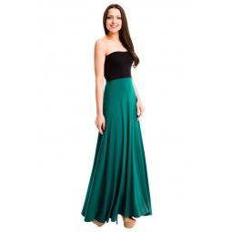фото Юбка-сарафан Mondigo 7038. Цвет: темно-зеленый. Размер одежды: 44