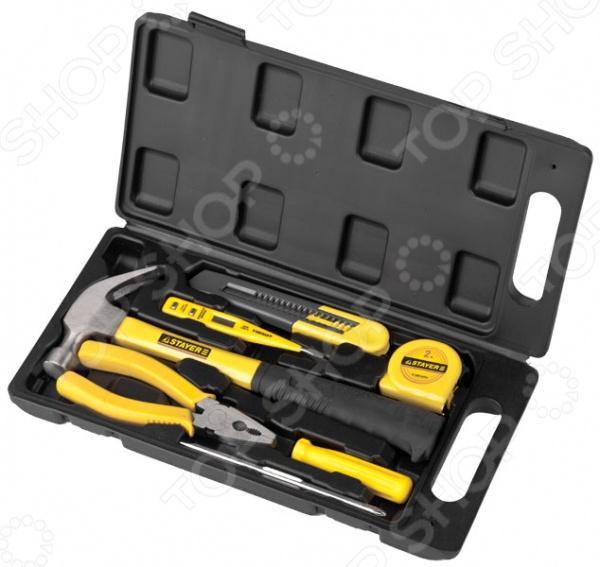 Набор инструментов Stayer Standard «Техник» 22051-H7 набор ключей комбинированных stayer professional 2 271251 h7