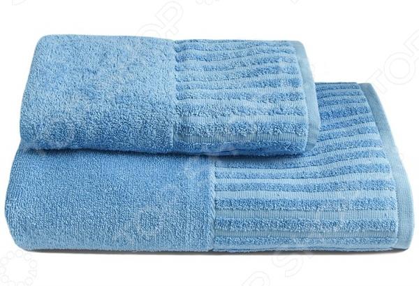 Полотенце махровое BONITA «Голубика»