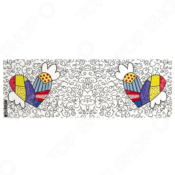 Обложка для студенческого билета Mitya Veselkov «Крылатое сердце»Обложки для студенческих билетов<br>Обложка для студенческого билета Mitya Veselkov Крылатое сердце это полезный и стильный аксессуар. С такой обложкой документ не порвется и не запачкается. А еще оригинальный внешний вид и безукоризненное исполнение подчеркнут индивидуальный стиль владельца. Обложка сделана из ПВХ, поэтому она достаточно проста и долговечна. Этот материал не подвержен истиранию и не пропускает влагу.<br>