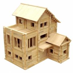 фото Конструктор деревянный Теремок «Теремок 3»
