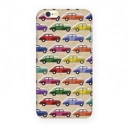 фото Чехол для iPhone 6 Mitya Veselkov «Цветные машинки»