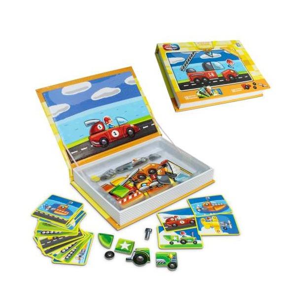 фото Набор игровой на магнитах 1 Toy «Транспорт»