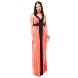 фото Платье Mondigo 7045. Цвет: коралловый. Размер одежды: 48