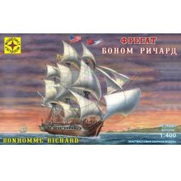 фото Сборная модель морского судна Моделист фрегат «Боном Ричард» 20893