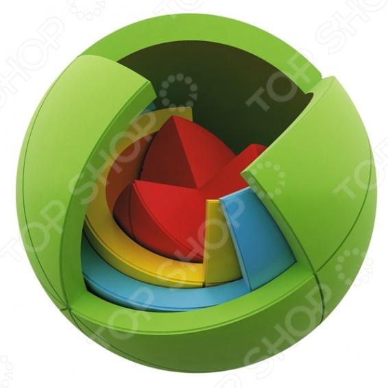 Шар-головоломка Bradex Puzzle SpheresГоловоломки<br>Шар-головоломка Bradex Puzzle Spheres необычный объемный пазл, который понравится не только детям, но и взрослым. Игра с шаром способствует развитию логического и пространственного мышления, мелкой моторики пальчиков, тактильного и цветового восприятия. Пазл состоит из четырех сфер, устроен по принципу матрешки , при котором малая сфера помещается в более крупную. Количество деталей 21, размер 75х75х75 мм. Игрушка изготовлена из прочного ABS-пластика, нетоксичного и абсолютно безопасного для здоровья ребенка.<br>
