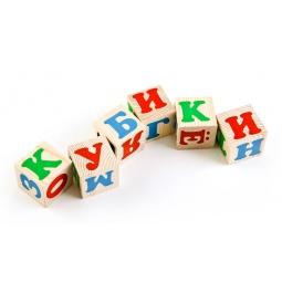 Купить Кубики Томик «Алфавит»