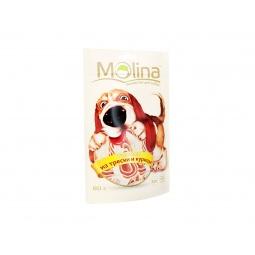 фото Лакомство для собак Molina 0757 «Рулетики из трески и курицы»