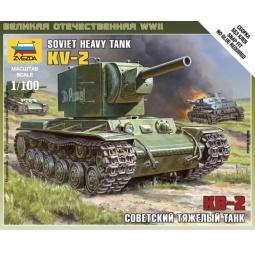 фото Сборная модель Звезда «советский тяжелый танк КВ-2»
