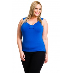 фото Майка Mondigo XL 387. Цвет: синий. Размер одежды: 50