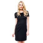 Фото Платье Mondigo 8665. Цвет: черный. Размер одежды: 46