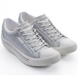 Купить Кеды Walkmaxx Comfort 3.0. Цвет: серебряный