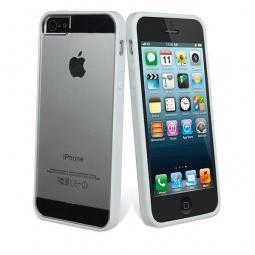 фото Чехол и пленка на экран Muvit Bimat для iPhone 5. Цвет: белый