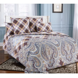 фото Комплект постельного белья Королевское Искушение «Селеста». 2-спальный. Размер простыни: 220х195 см