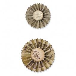 фото Форма для вырубки Sizzix Sizzlits Decorative Strip Die Мини-розочка
