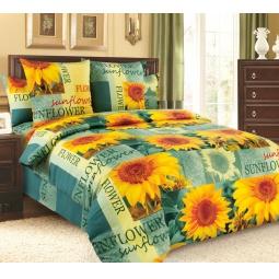 фото Комплект постельного белья Белиссимо «Солнечный цветок». Евро