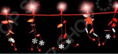 Гирлянда электрическая Luca Lighting 1694686Гирлянды<br>Гирлянда электрическая Luca Lighting 1694686 с 20 LED лампами поможет создать праздничное новогоднее настроение и принесет радость всем окружающим. Этой гирляндой можно украсить комнату в квартире или праздничный зал. Она поможет по-настоящему ощутить праздничное новогоднее настроение детям и взрослым. Гирлянда подойдет для декорирования окон, стен, шкафов.<br>