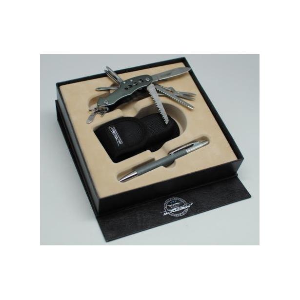 фото Набор: нож перочинный, чехол и ручка Mr.Forsage 800-009