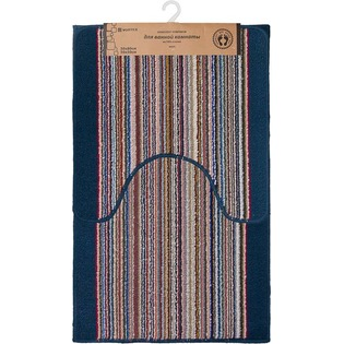 Купить Комплект ковриков для ванной и туалета Vortex Baden 21081. В ассортименте