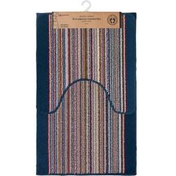 фото Комплект ковриков для ванной и туалета Vortex Baden 21081. В ассортименте