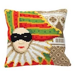 Купить Набор для вышивания подушки Collection D'art 5170