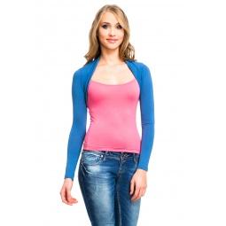 фото Болеро Mondigo 015. Цвет: джинсовый. Размер одежды: 46