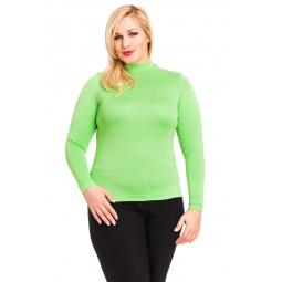 фото Водолазка Mondigo XL 036. Цвет: салатовый. Размер одежды: 48