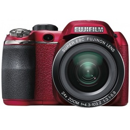 фото Фотокамера цифровая Fujifilm FinePix S4300. Цвет: красный