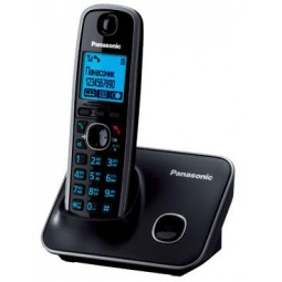 фото Радиотелефон Panasonic KX-TG6611. Цвет: черный