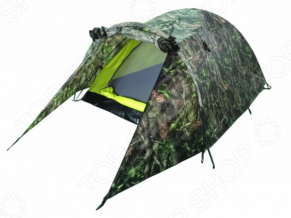 Палатка Greenwood Hunter 2Палатки<br>Палатка Greenwood Hunter 2 это прекрасный выбор для любителей активного отдыха, трекинга и турпоходов. Она станет отличным дополнением к набору ваших туристических принадлежностей и поможет сделать отдых максимально комфортным. Тент палатки выполнен из полиэстера с водостойкой пропиткой, а пол из армированного полиэтилена. В качестве материала для внутренней палатки используется дышащий полиэстер, что обеспечивает лучшую вентиляцию и предотвращает скапливание конденсата. Модель снабжена вентиляционным фибергласовым каркасом, проклеенными швами и антимоскитной сеткой.<br>