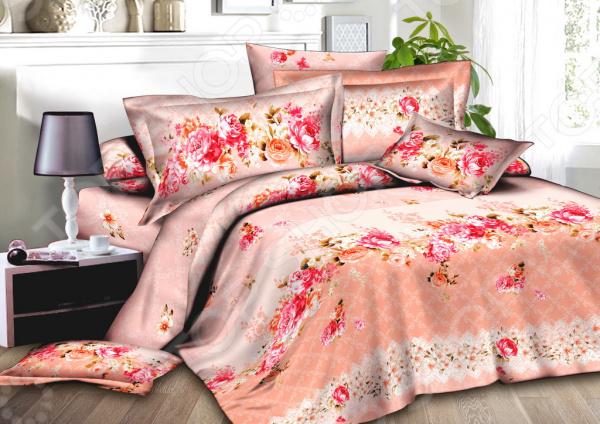Комплект постельного белья BegAl ВТ002-А602. 2-спальный2-спальные<br>Комплект постельного белья BegAl ВТ002-А602 это незаменимый элемент вашей спальни. Человек треть своей жизни проводит в постели, и от ощущений, которые вы испытываете при прикосновении к простыням или наволочкам, многое зависит. Чтобы сон всегда был комфортным, а пробуждение приятным, мы предлагаем вам этот комплект постельного белья. Приятный цвет и высокое качество комплекта гарантирует, что атмосфера вашей спальни наполнится теплотой и уютом, а вы испытаете множество сладких мгновений спокойного сна.  Комплект сшит из приятной на ощупь ткани поплин. За счет особого полотняного переплетения чередуются тонкие и толстые нити материал отличается повышенной прочностью и долговечностью, при этом хорошо пропускает воздух, легко стирается и гладится.  Изображение нанесено на ткань с применением современных технологий печати. Качественный рисунок будет долго радовать вас своим видом. Перед первым применением комплект постельного белья рекомендуется постирать. Перед этим выверните наизнанку наволочки и пододеяльник. Для сохранения цвета не используйте порошки, которые содержат отбеливатель. Рекомендуемая температура стирки 60 С и ниже без использования кондиционера или смягчителя воды.<br>