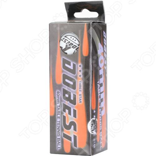 Мяч для настольного тенниса DoBest BA-01 3* мяч для настольного тенниса donic jade 6 штук оранжевый