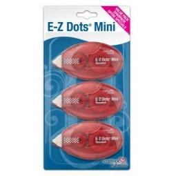 Купить Набор из 3-х клейких двусторонних лент 3L E-Z Dots Mini