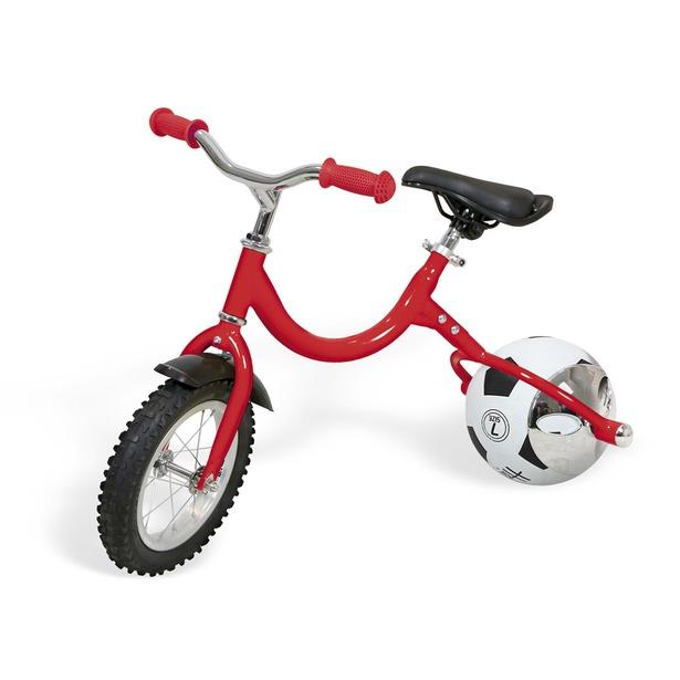 фото Беговел с колесом в виде мяча Bradex «Велоболл». Цвет: красный