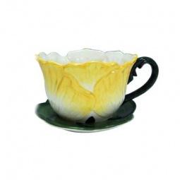 фото Кашпо декоративное Valenсia «Цветок дыни»