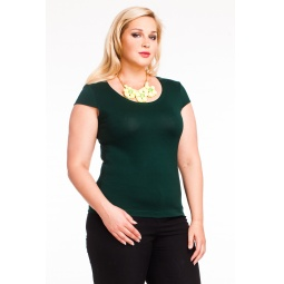 фото Футболка Mondigo XXL 7001. Цвет: темно-зеленый. Размер одежды: 54