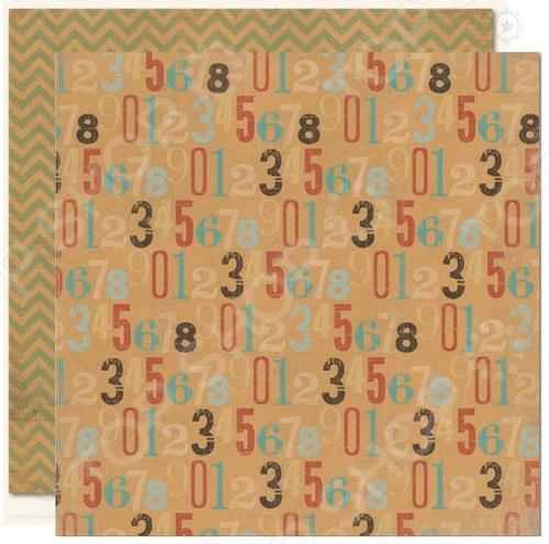 фото Бумага для скрапбукинга двусторонняя Morn Sun Countdown, купить, цена