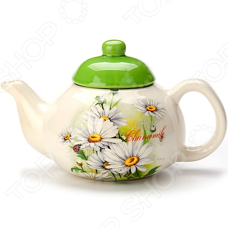 Чайник заварочный Loraine LR-23768 чайник заварочный loraine lr 23768 0 7л белый с рисунком ромашки