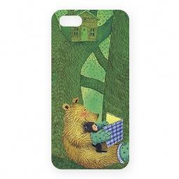 фото Чехол для iPhone 5 Mitya Veselkov «Мишка с книжкой»