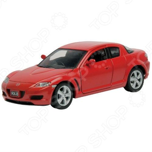 Модель автомобиля 1:24 Motormax Mazda RX8. В ассортименте